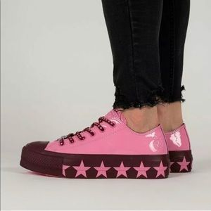 CONVERSE x MILEY CYRUS CTAS LIFT OX WOMENS PINK